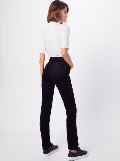 Kelnės 'Mary' iš BRAX , spalva - juoda: Vaizdas iš galinės pusės