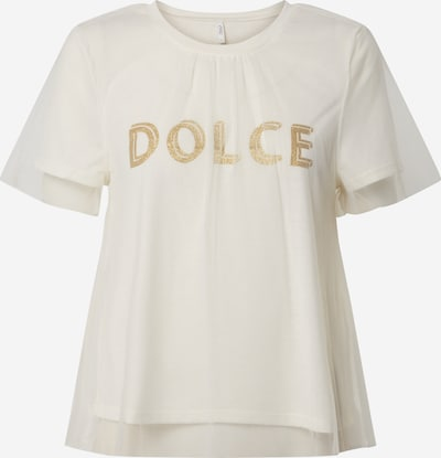 ONLY Shirt 'TULLE' in de kleur Beige, Productweergave