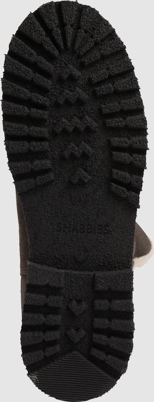 SHABBIES AMSTERDAM Ankleboots mit Schurwolle