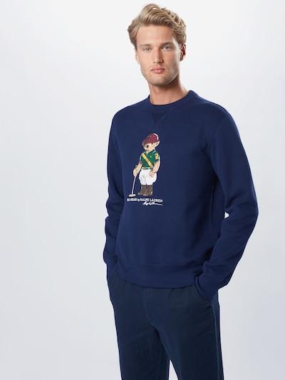 POLO RALPH LAUREN Sweatshirt in de kleur Navy: Vooraanzicht