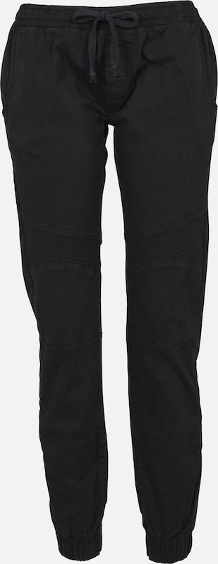 Urban Classics Noir En Biker' Pantalon 'ladies USLpqzVGM