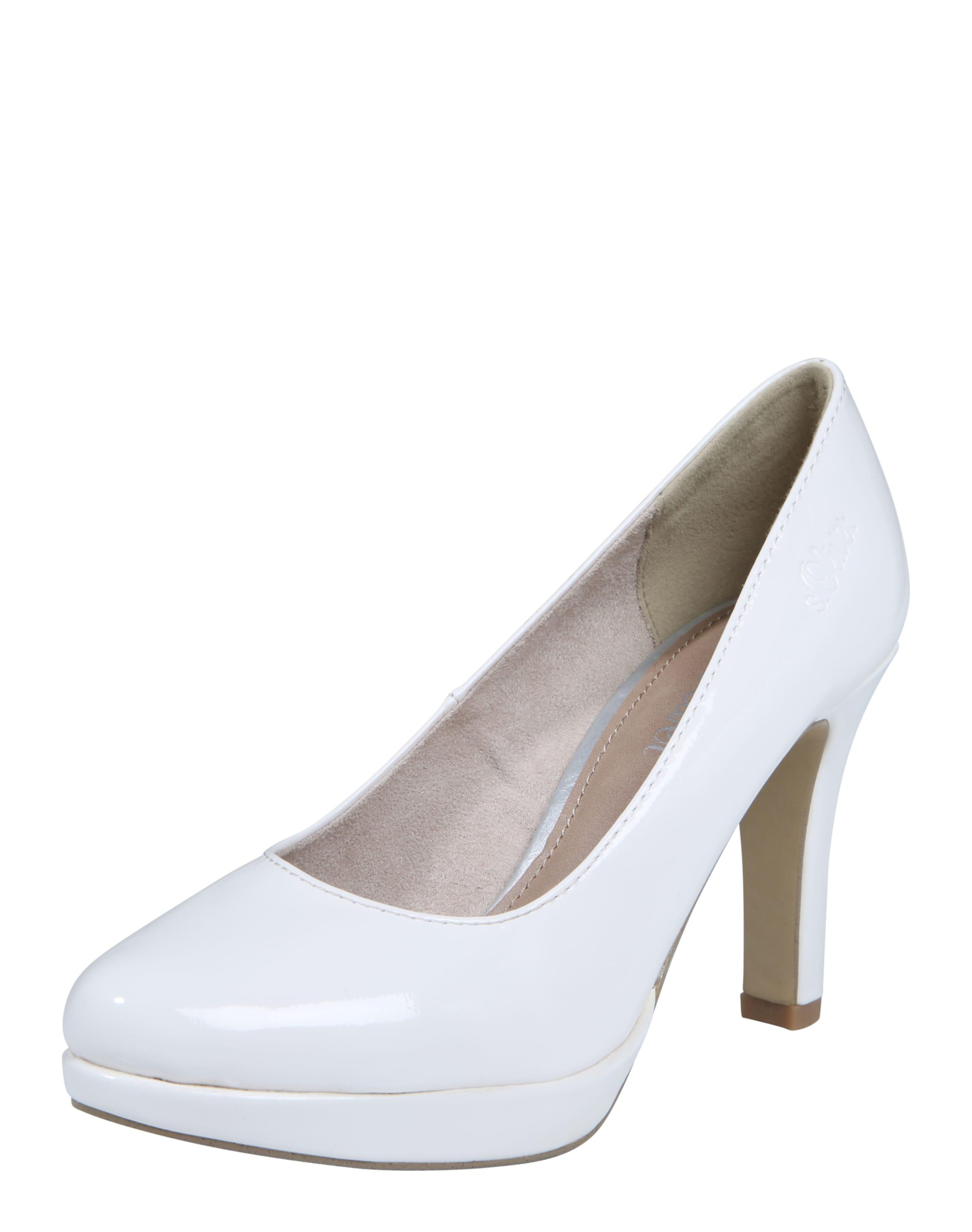s.Oliver RED LABEL Lack-Pumps Verschleißfeste billige Schuhe