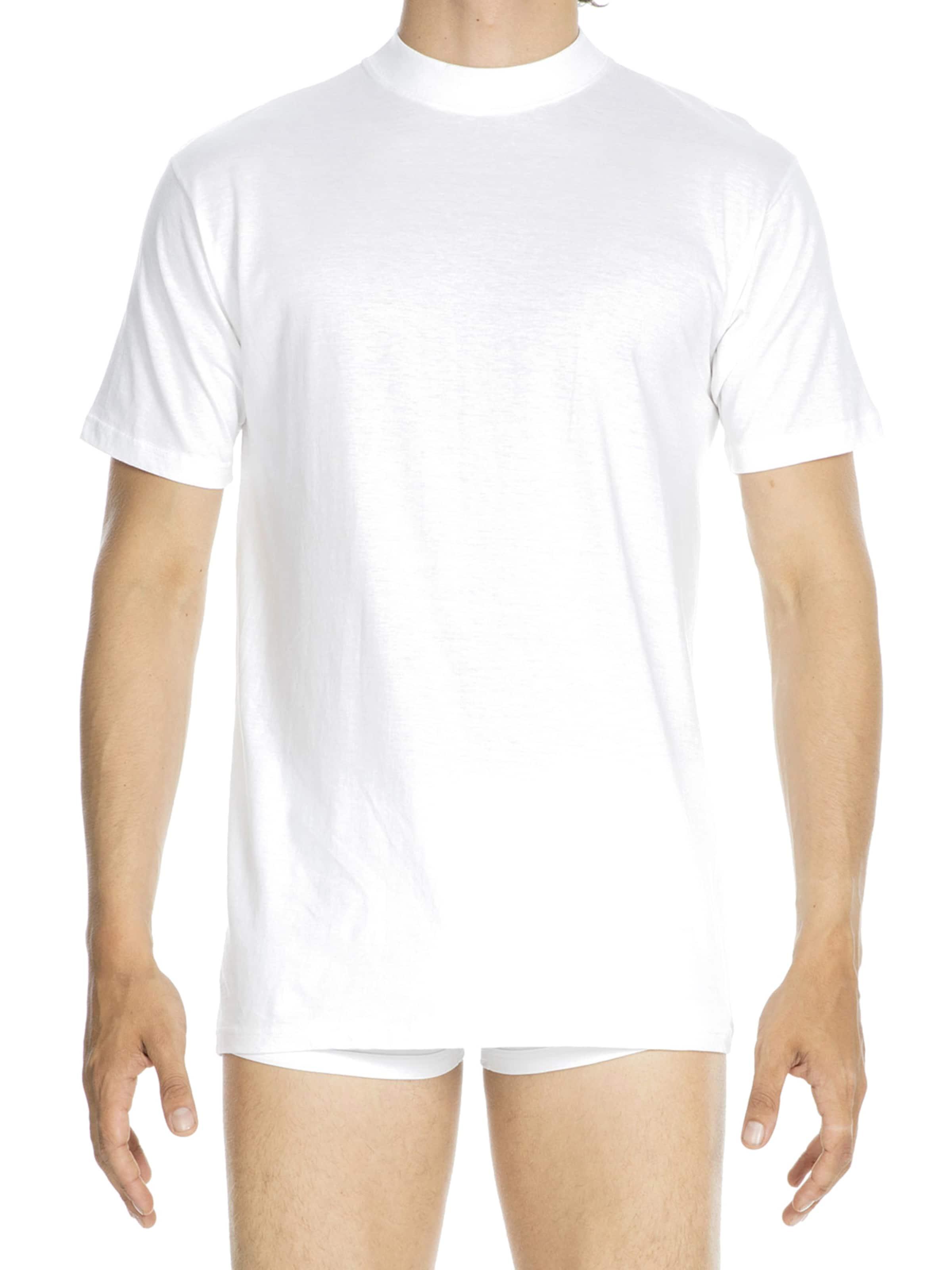 HOM Shirt 'Harro New' in weiß Unifarben 12507