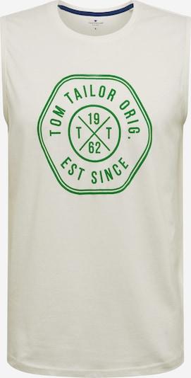 Marškinėliai 'tanktop with print' iš TOM TAILOR , spalva - kremo, Prekių apžvalga