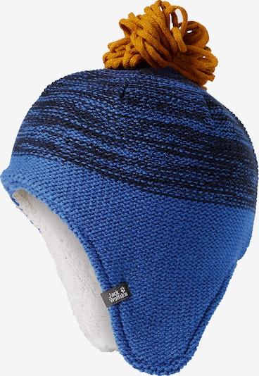 JACK WOLFSKIN Mütze 'Snowflake' in blau, Produktansicht
