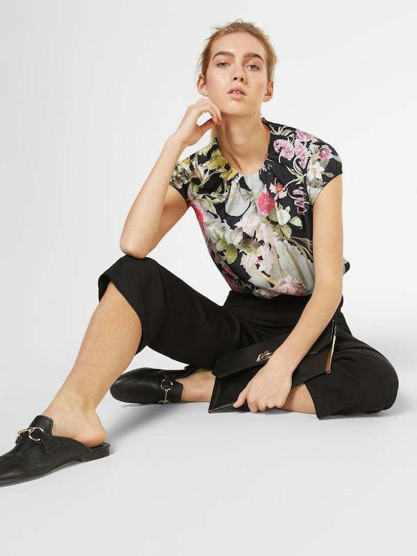 COMMA Bluse mit floralem Muster