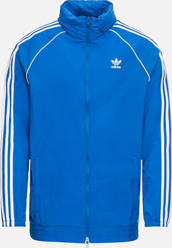 Veste En Adidas Mi Windbreaker' 'sst Originals saison BleuBlanc pSVqzMUG