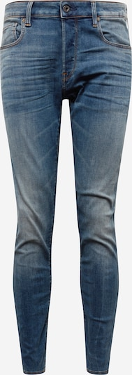 G-Star RAW Jean '3301 Slim' en bleu denim: Vue de face