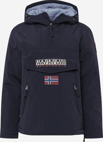 NAPAPIJRI Between-Season Jacket 'Rainforest Pocket 1' in Black