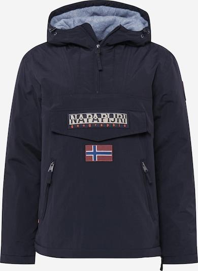 NAPAPIJRI Zimska jakna | modra / rdeča / črna barva, Prikaz izdelka