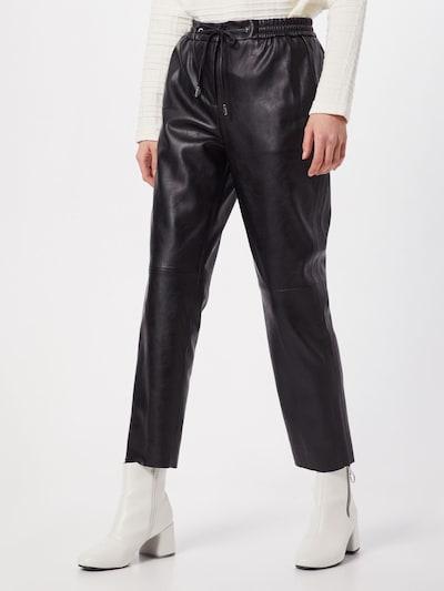 OPUS Hose 'Manu ST' in schwarz, Modelansicht