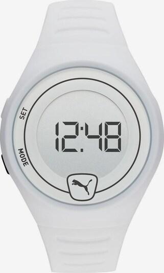 PUMA Uhr 'Faster, P5027' in schwarz / weiß, Produktansicht