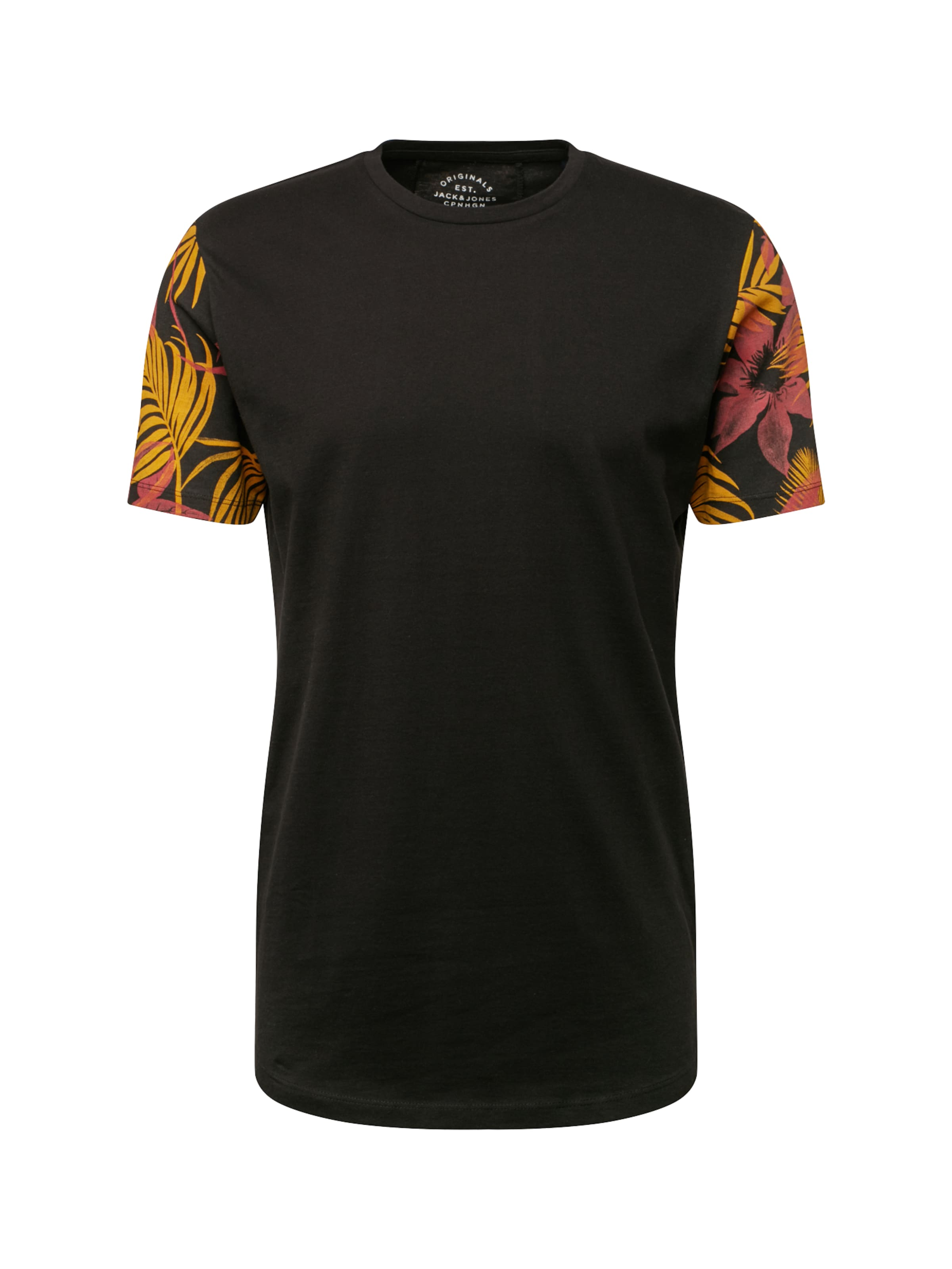 Ss En Jackamp; shirt T Noir 'jorgan Neck' Jones Tee Crew CthdsQr