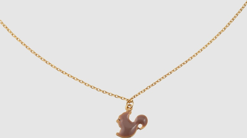 lua accessories Halskette 'Sweetie animal eichhörnchen'