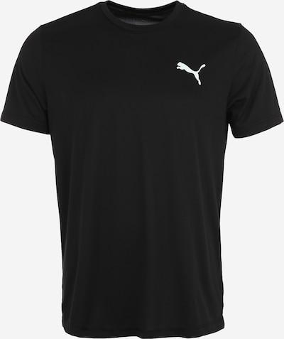 PUMA Sporta krekls 'Ess Active' melns / balts, Preces skats