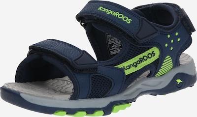 KangaROOS Sandale  'K-Celtic' in navy / limette, Produktansicht