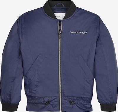 Calvin Klein Jeans Bomber Jacke in blau, Produktansicht