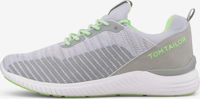TOM TAILOR Shoes Sneaker mit Farb-Details in grau, Produktansicht