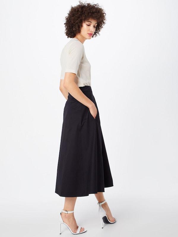 Noir Calvin Wrap Drill En Klein Jupe 'cotton Skirt' 1KcTlFJ