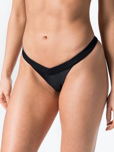 fekete Frankies Bikinis Bikini nadrágok, Modell nézet