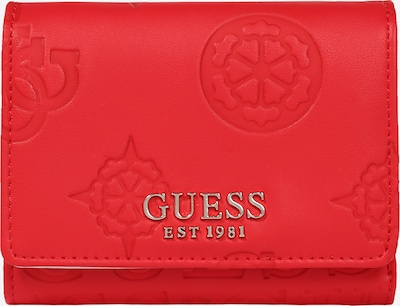 GUESS Novčanik 'KAYLYN' u zlatna / crvena, Pregled proizvoda