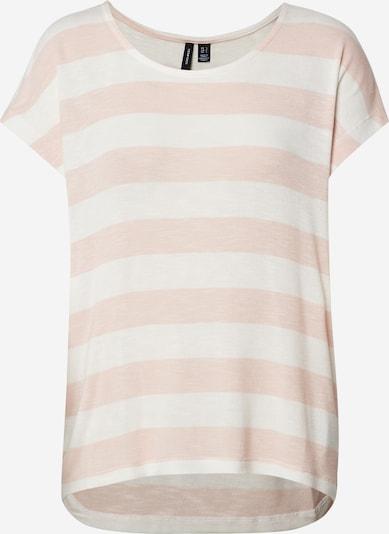 VERO MODA T-shirt en rose / blanc, Vue avec produit