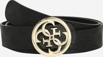 GUESS Gürtel 'Emilia' in gold / schwarz, Produktansicht