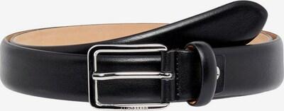 J.Lindeberg Leder Gürtel in schwarz, Produktansicht