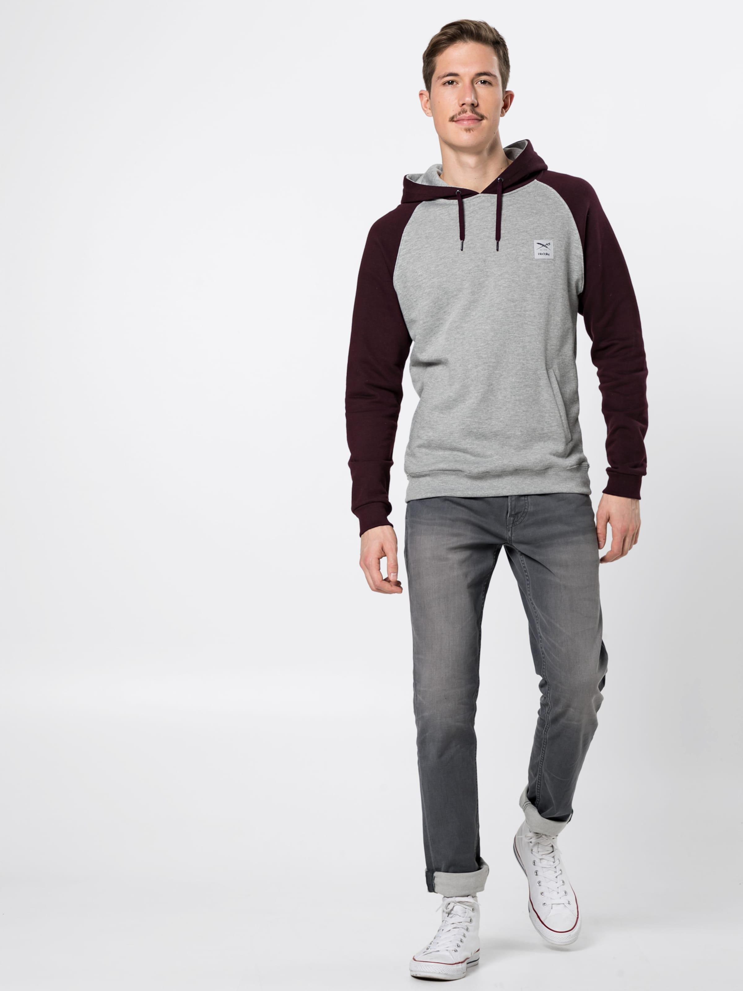 Iriedaily In GrauAubergine 'rugged Hoody' Sweatshirt EHYDWIe92