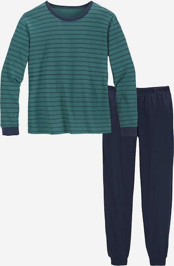 LE JOGGER Pyjama in petrol, Produktansicht