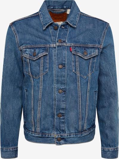 LEVI'S Ceļotāju jaka 'TRUCKER(JT)' pieejami zils džinss / balts, Preces skats