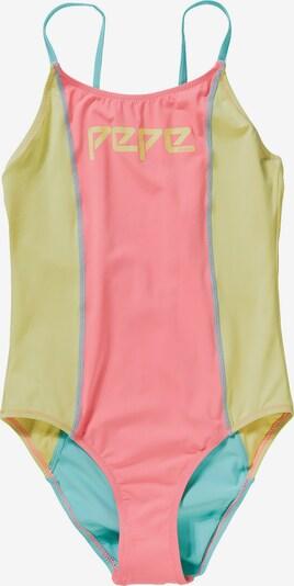 Pepe Jeans Badeanzug ARCO in neongrün / mischfarben / pink, Produktansicht