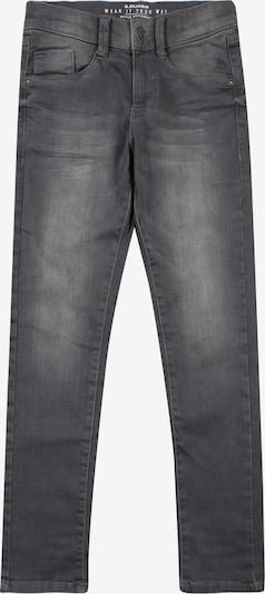 s.Oliver Junior Jeans 'Seattle' in black denim: Frontalansicht