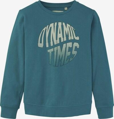TOM TAILOR Strick & Sweatshirts Sweatshirt mit Print in blau, Produktansicht