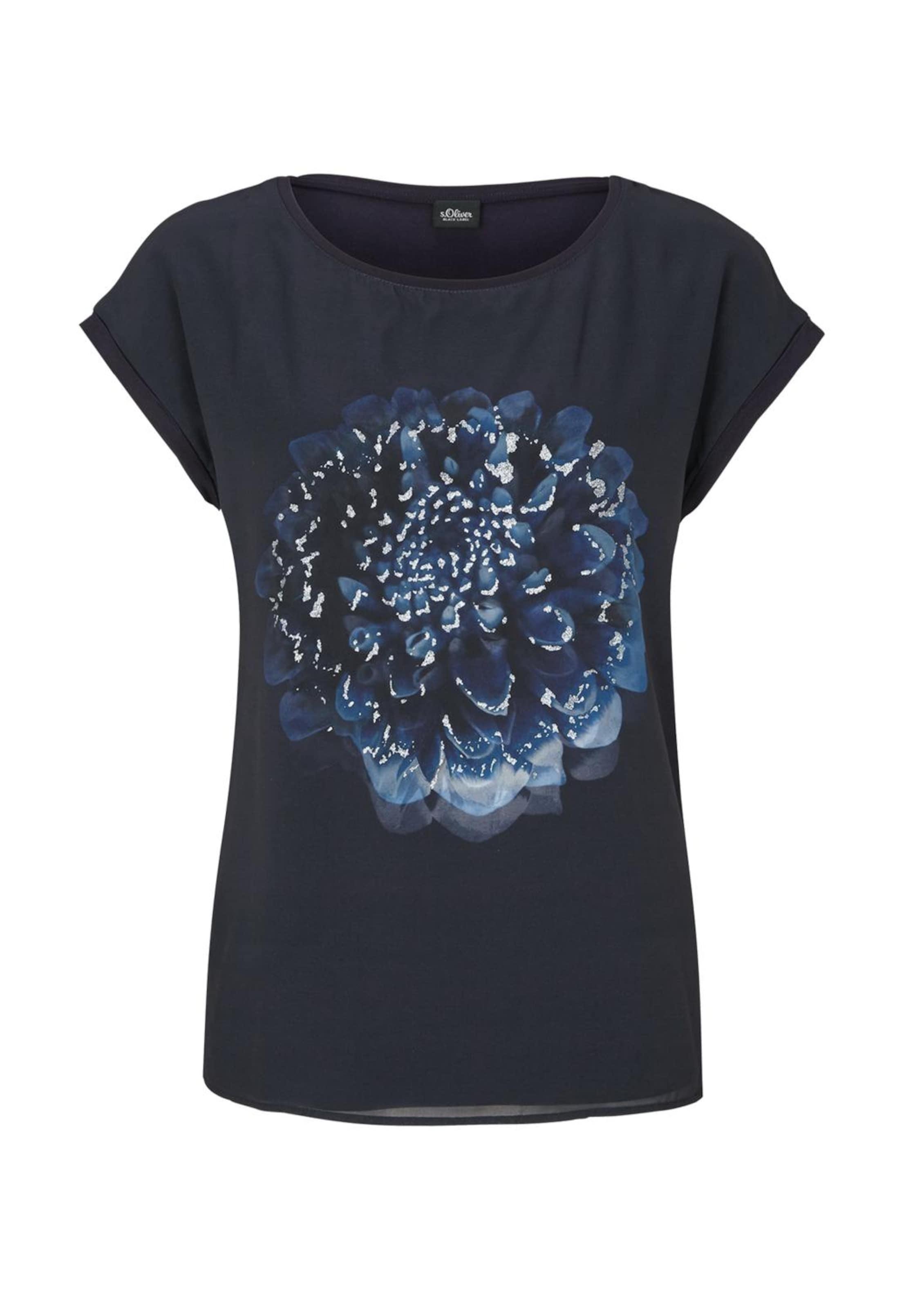 Black In NachtblauHimmelblau Hellblau Weiß shirt Label S T oliver fgb7y6