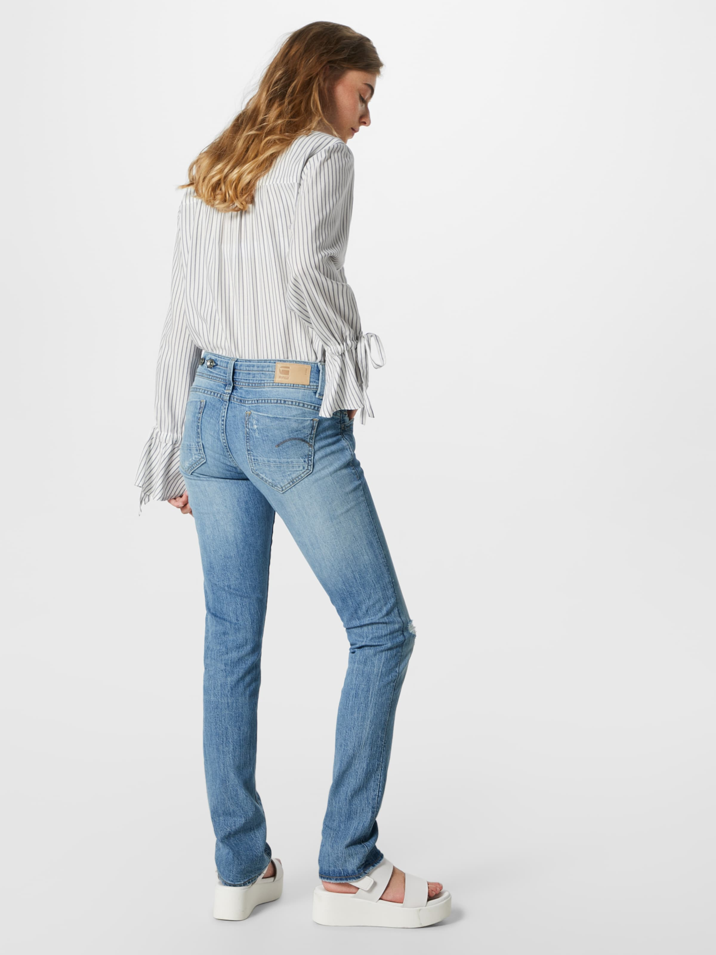 Saddle' Jean 'midge star En Bleu G Raw Denim OkiuZwPXTl