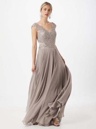 LUXUAR Kleid '2020-II' in dunkelgrau, Modelansicht