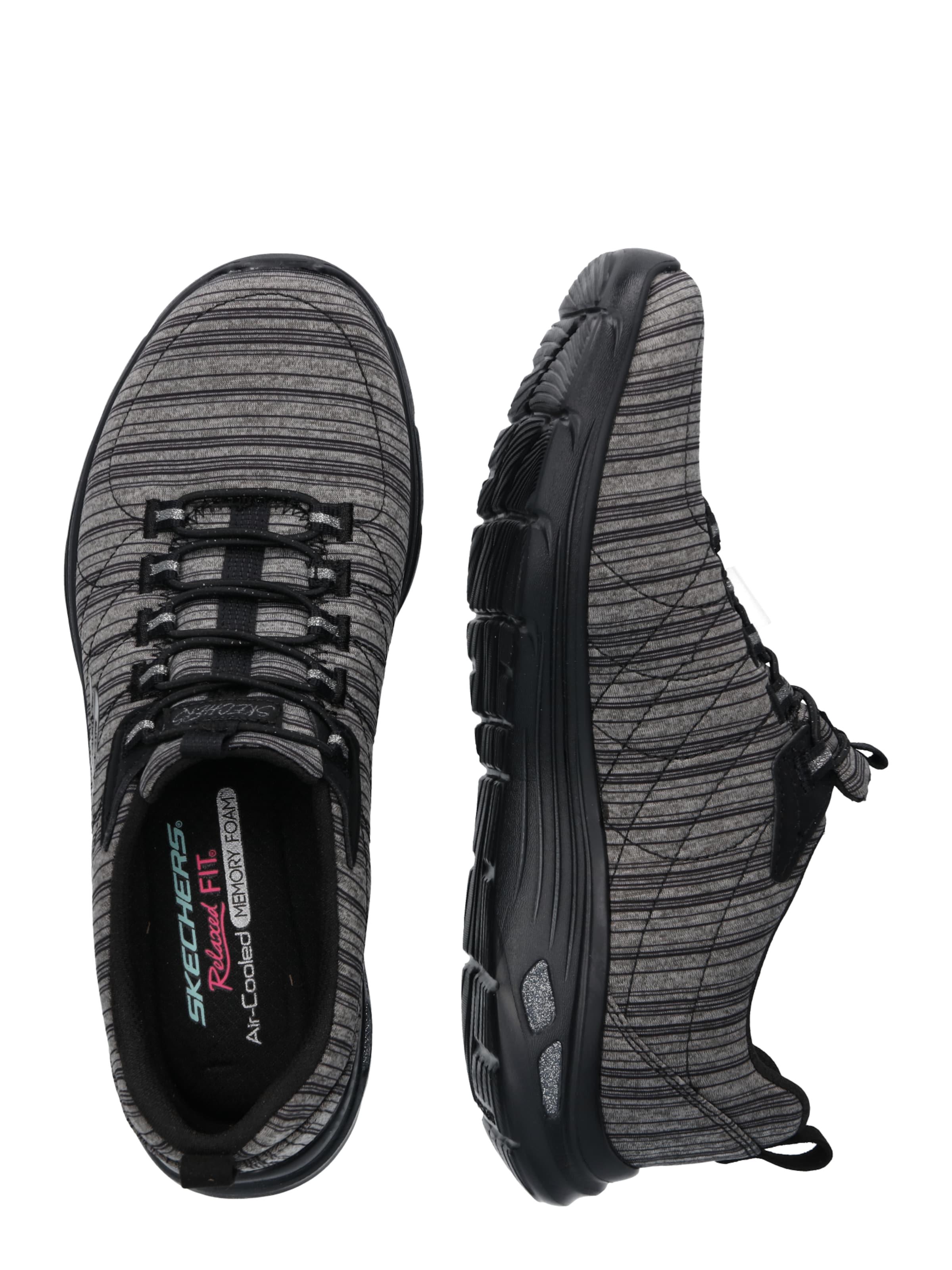 'empire Sneaker Skechers In Schwarzmeliert D'lux' PX0Ok8nw