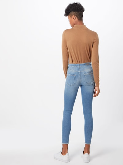 ONLY Jeans 'onlBLUSH' in blue denim: Rückansicht