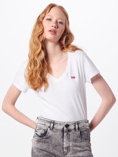 LEVI'S T-Krekls pieejami balts: Priekšējais skats