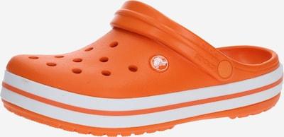 Crocs Pantoufle 'Crocband' en orange, Vue avec produit