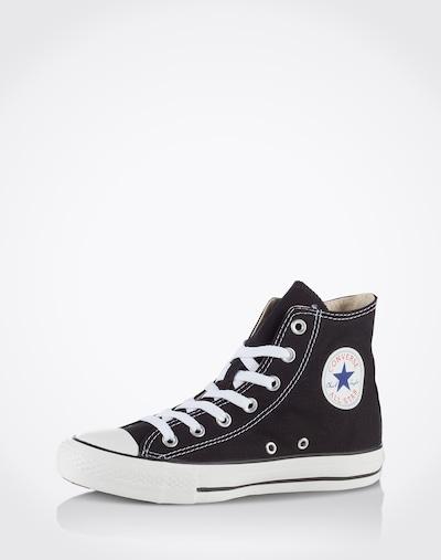 CONVERSE Sneaker 'Chuck Taylor All Star Hi' in schwarz: Frontalansicht