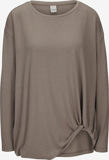 heine Oversized shirt in de kleur Taupe, Productweergave