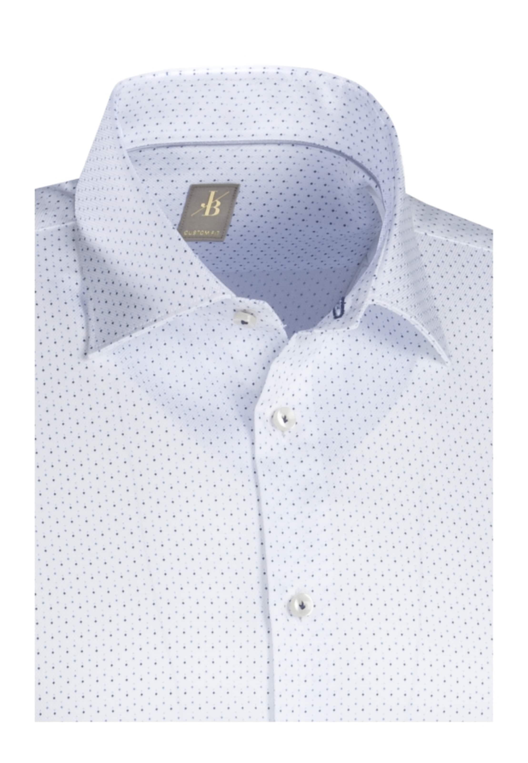 Britt Fit' In 'custom hemd BlauWeiß City Jacques 8k0wPOn