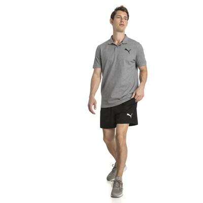 PUMA Sporthose 'ACTIVE' in schwarz / weiß: Frontalansicht