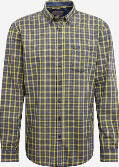CAMEL ACTIVE Hemd in blaumeliert / gelb, Produktansicht