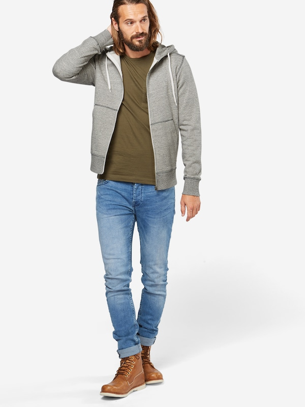 JACK & JONES Sweatshirtjacke 'JORSTORM SWEAT ZIP HOOD B'