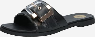 BUFFALO Klapki 'JOSIE' w kolorze czarnym, Podgląd produktu