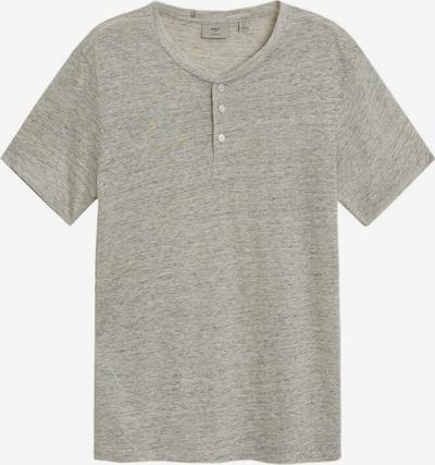 MANGO MAN T-Shirt 'Pana' in graumeliert, Produktansicht