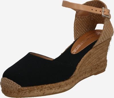 MACARENA Sandale ANA21BA' in beige / schwarz, Produktansicht